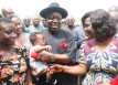 FLOOD-GOV UDUAGHAN MARKS 58TH BIRTHDAY WITH INTERNALLY DISPLACED PERSONS 1