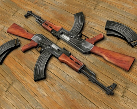 Recovered Illegal Arms And Ammunition In Bayelsa State