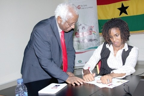 Ghana commended for success in HIV control effort