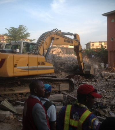 Four die as school building collapses in Onitsha