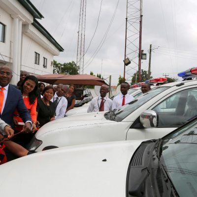 PhotoNews: Gov Orji Boosts Security in Abia