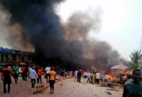 Nigeria-Explosion