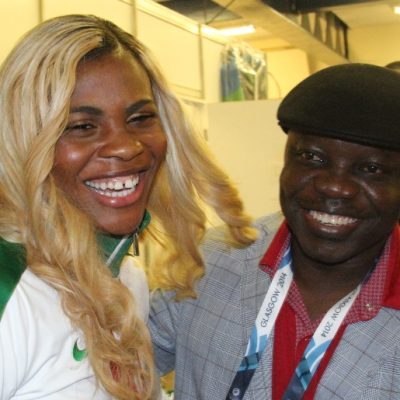 PhotoNews: Blessing Okagbare Dedicates Her Victory To Gov Emmanuel Uduaghan