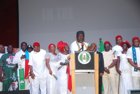 Re: Imo PDP Leaders Had Fed On The Common Purse Of The State – Gov. Okorocha