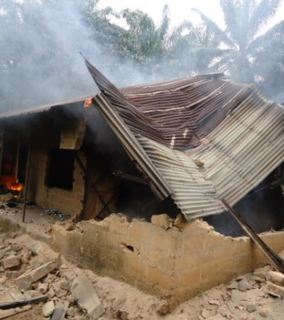 Soldiers Raze Kidnappers' Hideout In Aba