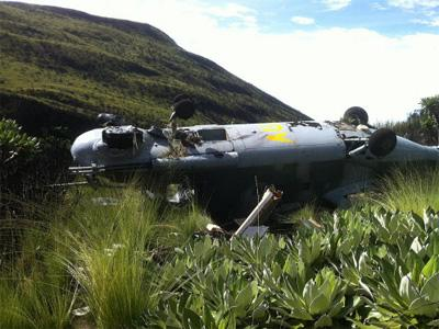 Nigerian Air Force Helicopter Crashes In Bama