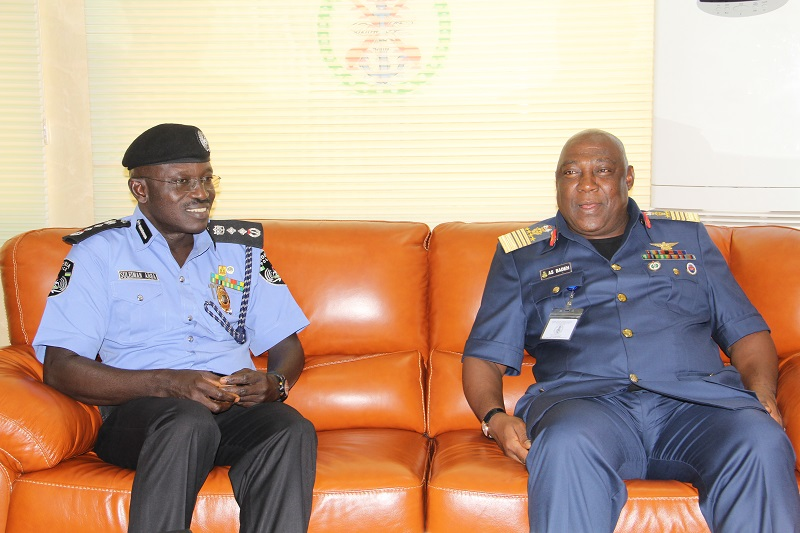 IGP Suleiman Abba and the CDS, Air Chief Marshal Alex Badeh