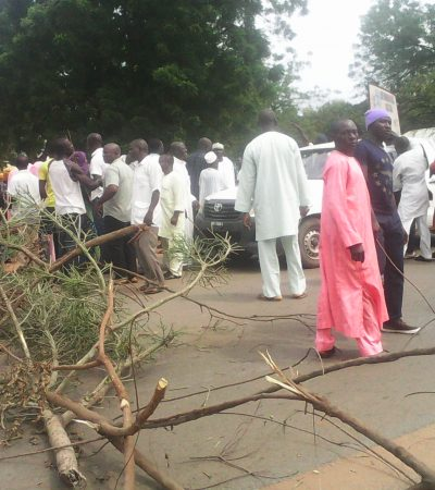 "Protest in Nasarawa: ""Our Problem Is Paucity Of Fund"" – Doma Local Govt Chairman"