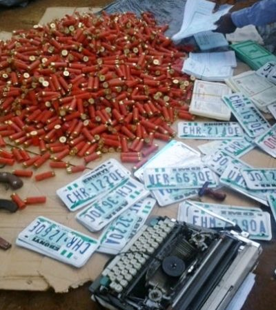 Obiano's Operation Kpochapu Parades 40 Fake Number Plates Manufacturers, Car Robbery Suspects