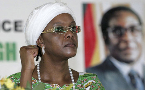 Grace Mugabe launches political career at rally
