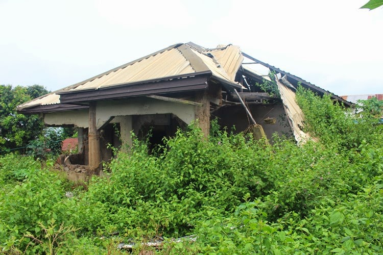 Kidnappers hideout used by Jude in Aguleri