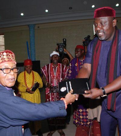 Governor Okorocha Launches Imo Security Black File