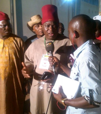 Court Documents Restraining Victor Umeh From Acting As APGA Chairman