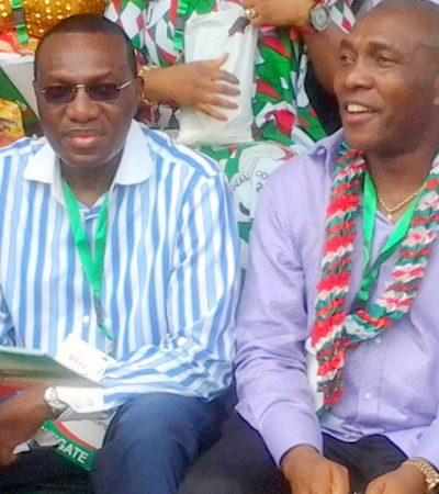 Sen. Andy Uba Fetes Constituents .. Doles Out Items Worth Millions of Naira