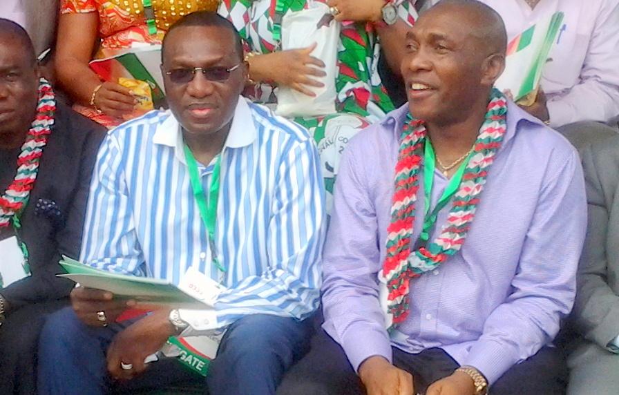 Senator Andy Uba and brother, Chris Uba