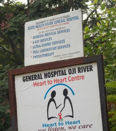 PhotoNews: Sullivan Chime's Wickedness At General Hospital Oji River, Enugu State