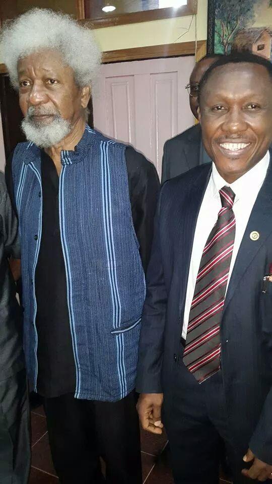 Obiano Drags Wole Soyinka to Anambra State