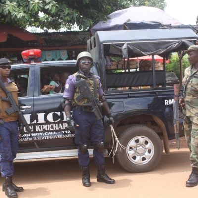PhotoNews: Anambra Security Beefed Up For Christmas Return