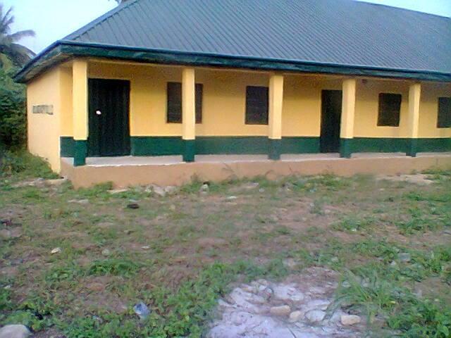 Newly Renovated blocks at Umuocham Primary School