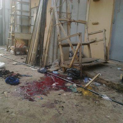 PhotoNews: Market Bomb Blast  In Kano