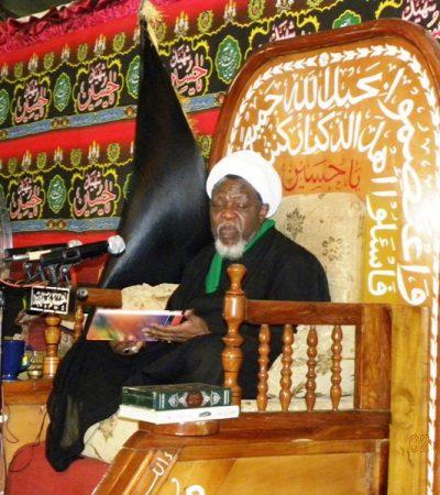 Members Of The Islamic Movement Set For The Arba'een Symbolic Trek In Nigeria