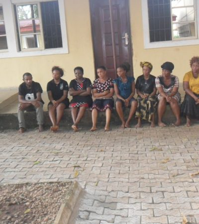 Anambra: DSS Parades Pastor, Evangelist, 2 Nurses, 13 Others For Child Trafficking And Kidnapping …Three children rescued
