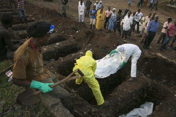 Death toll in Ebola outbreak rises to 7,588: WHO