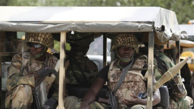 120 Boko Haram, 9 Soldiers Killed in Maiduguri Attack, Armoured Vehicle Recovered