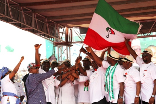 FLAG-OFF 2015 PDP Presidential & Gubernatorial Campaign  (22)