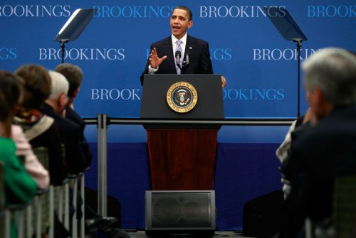 US top think-tank, Brookings, project Jonathan win; say APC is a fragile anti-Jonathan setup