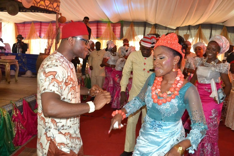 Dancing Time: The couple Dr. Simeon and Inebharapu Paul Onyemechi