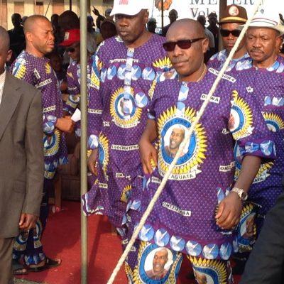 PhotoNews: Chris Uba Leads PDP Campaign Rally At Ogbaru, Anambra