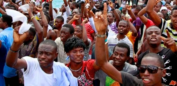 Anambra Youths Protest Multiple Candidates, Issue Ultimatum To INEC