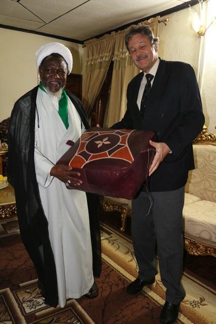 Swiss Envoy Condoles Shaikh Zakzaky
