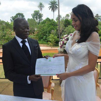 Oshiomhole Wedding