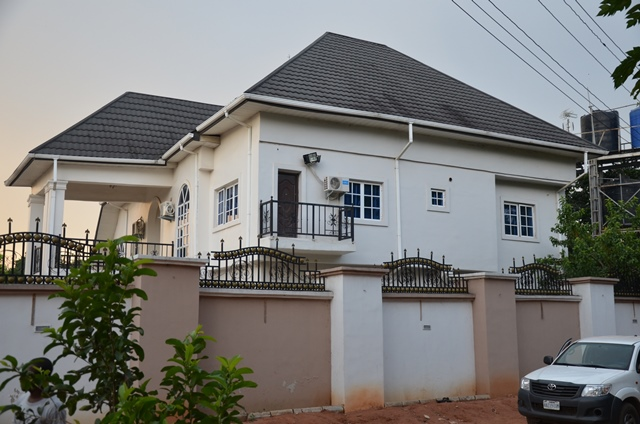 suspect's house in anambra