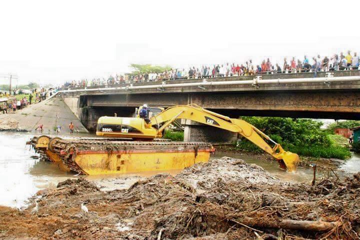 Dredging of Aba waterside river 1