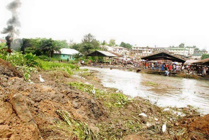 Dredging of Aba waterside river 3