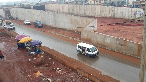 The ongoing construction of flyover along enugu/osha expressway - the Peter Obi administration attempted truncating the contract specifications in order to loot the funds from the project. Obiano halted it and instructed the project continued as designed