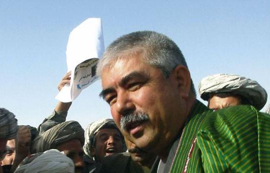 Afghan Vice President, Gen. Abdul-Rashid Dostum