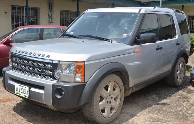 range rover belonging to chika