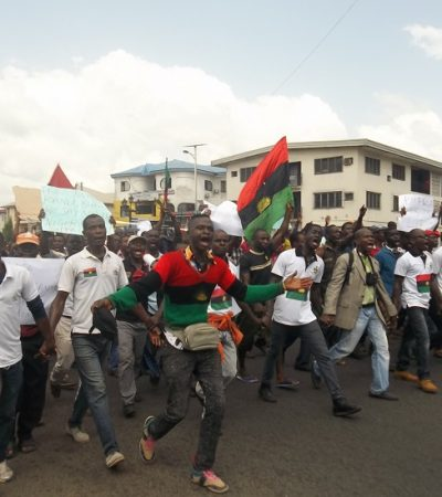 Schools, Markets Shut As Pro-Biafra Agitators Demonstrate In Imo