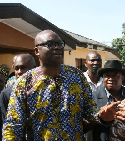 [Interview] Obasanjo Begging For Relevance – Fayose