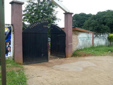 Main gate of FGC, Ohafia