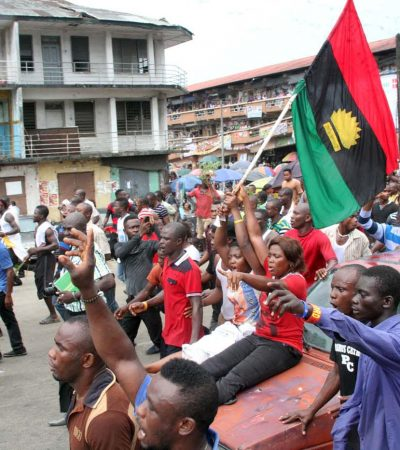 Soldiers Beat Up IPOB Member For Taking Photograph In Umuahia