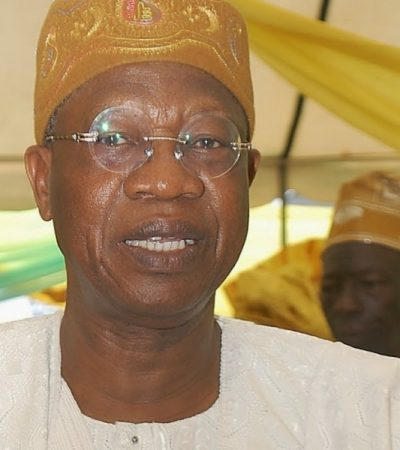 Any Problem In Drafting Lai Mohammed? – By Abdulrazaq Magaji