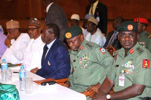 Chibok Mothers Weep Bitterly In Aso Rock As Buhari Walks Out On Them