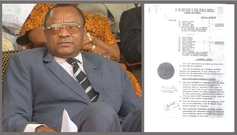 Chief Judge Of Enugu State Alleged Forgery, The Untold Story