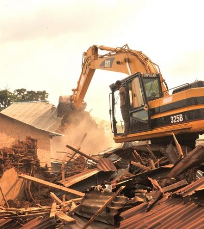 Abia Govt Demolishes Kidnappers Home