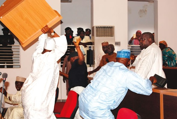 Assembly Melee: Speaker Sets-Up Committee To Investigate Bribery Al-Makura